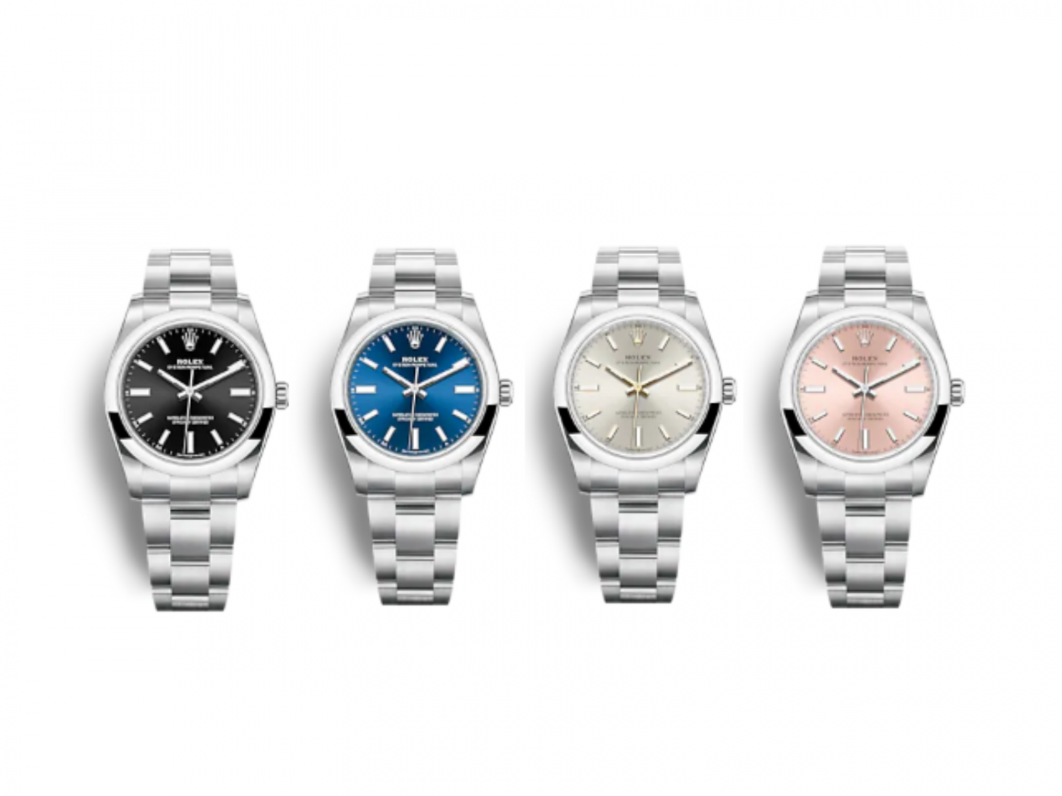 Oyster perpetual 34 124200