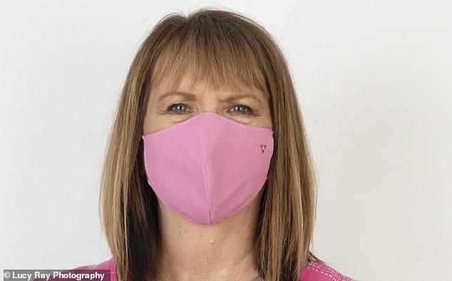 抗菌塗層布口罩