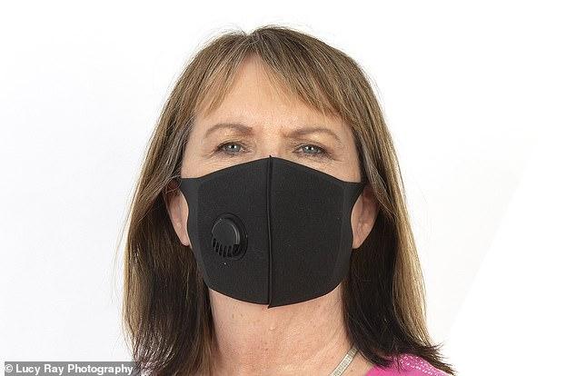 氣閥合成橡膠口罩