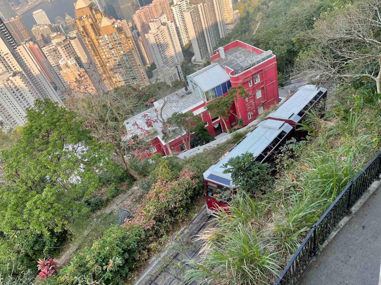小朋友-復課-疫情-親子遊-香港-大澳-山頂坐纜車-香港財經時報HKBT-香港財經時報-HKBT