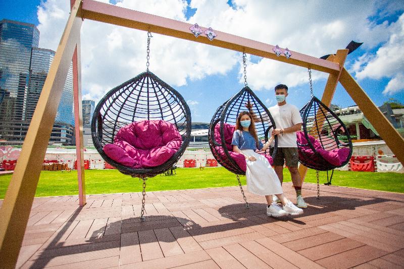 親子好去處2021|灣仔HarbourChill海濱休閒站24小時開放 歡迎寵物入內-香港財經時報-HKBT