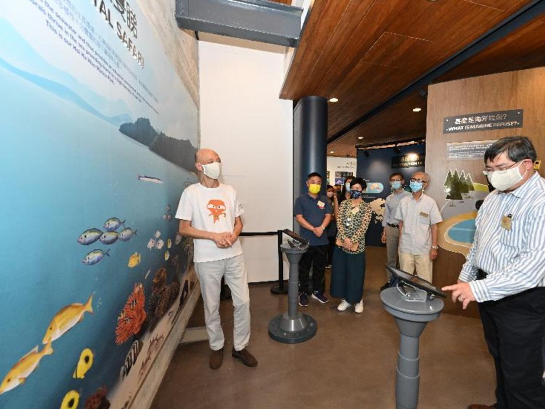 親子好去處2021-海岸公園遊客中心-VR-AR-海洋生物-香港財經時報HKBT